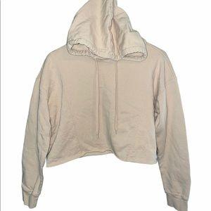 Wild Fable cream cropped sweatshirt